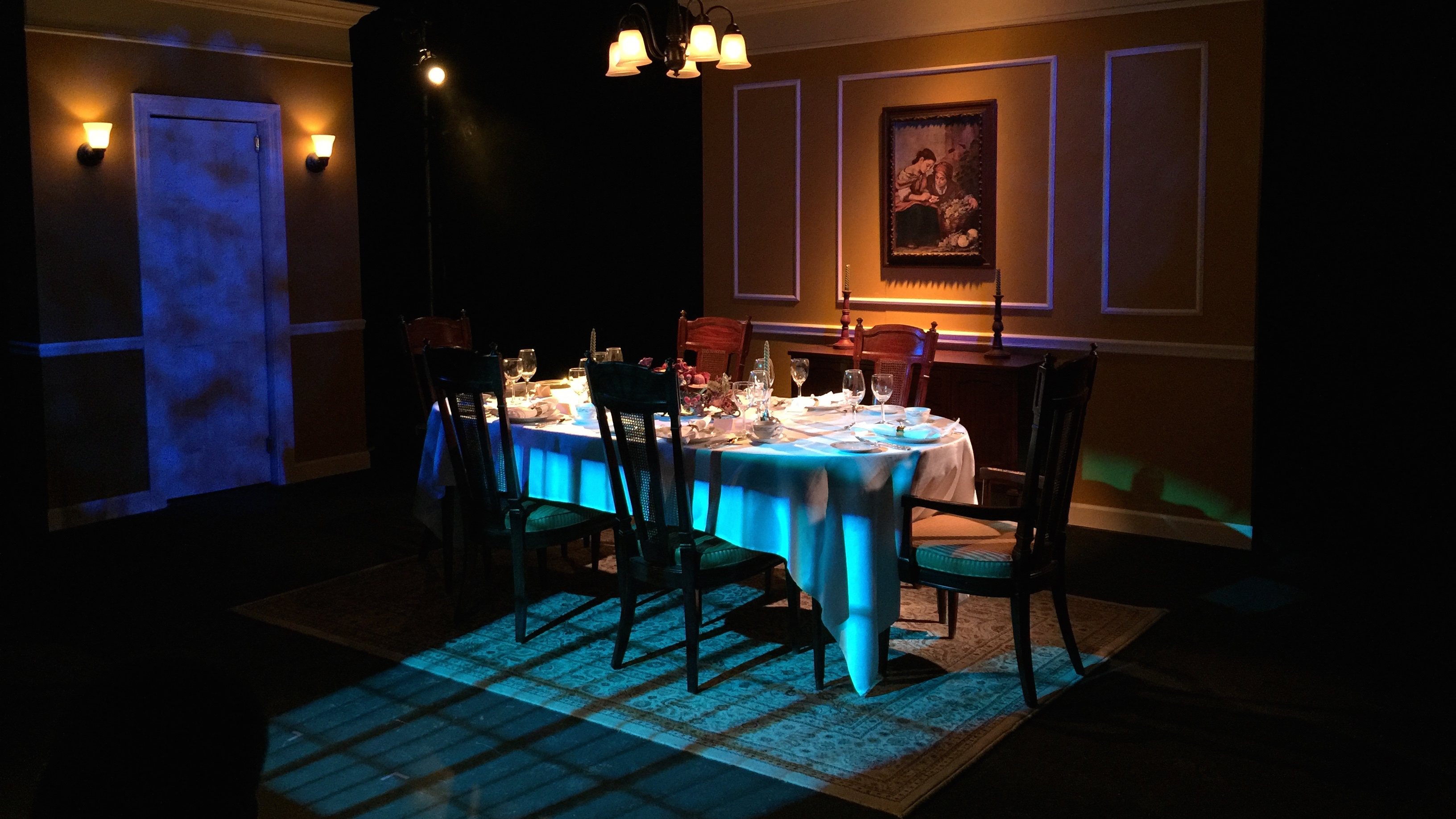 The Dining Room    November 2015. The Dining Room    November 2015   KMR land    Kevin Michael Reed